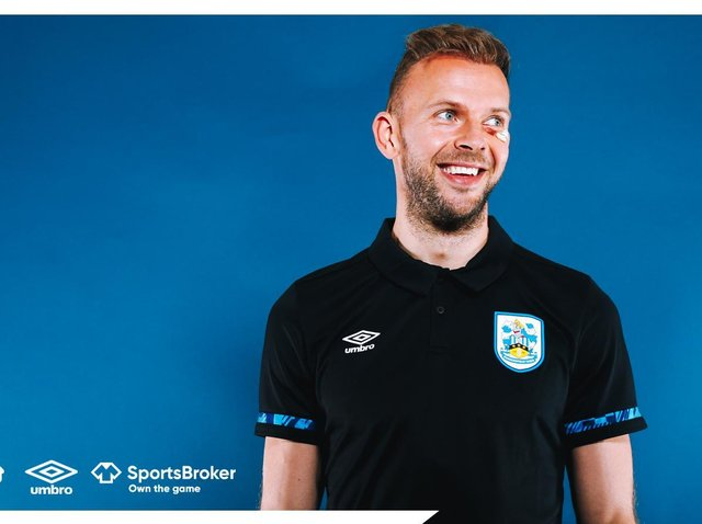Jordan Rhodes. Picture courtesy of Huddersfield Town AFC.