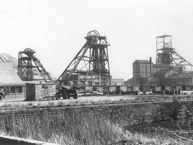 The former colliery site is now part of the wetlands which have been designated SSI status