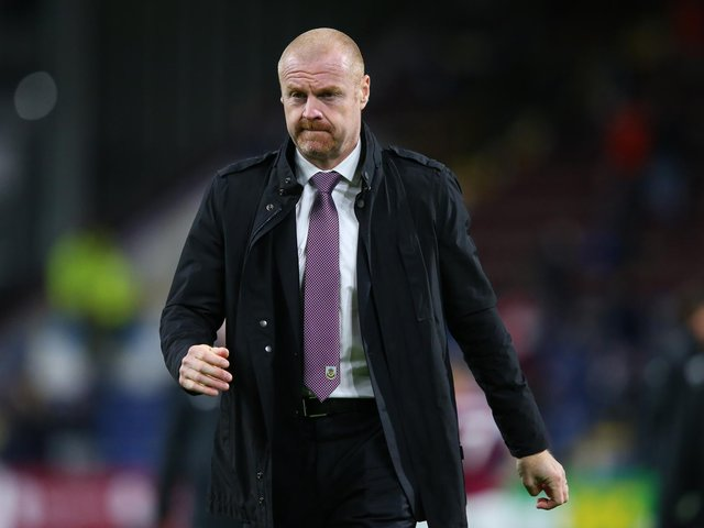 MANAGER: Burnley boss Sean Dyche. Picture: Getty Images.