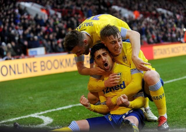 Leeds United's Pablo Hernandez. Picture: Simon Hulme