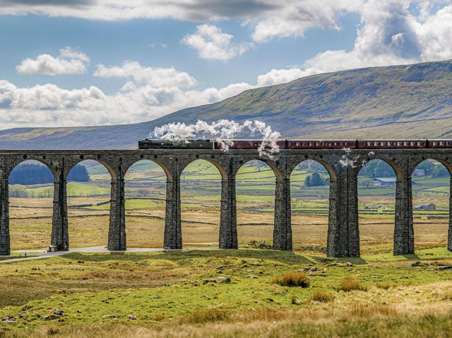 The Cumbrian Mountain Express became the first steam train to run on the Settle to Carlisle line following the easing of coronavirus restrictions last week.