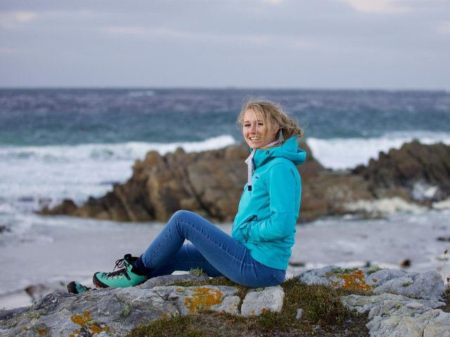 Alice Clarke's jewellery business has become an unexpected tourist attraction in the Falkland Islands.
