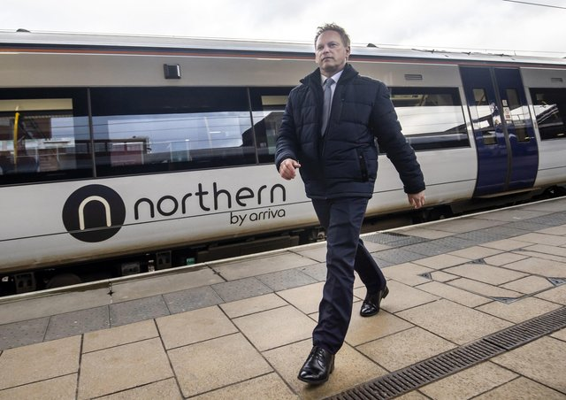 Transport Secretary Grant Shapps has announced a new shake-up of the railways.