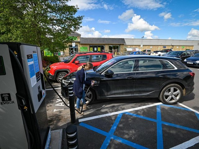 Customers will have access to the free charging points across 19 of the retailer's stores, including Bradford, Killingbeck, Wakefield, Huddersfield and Middleton, Asda's sustainability store.