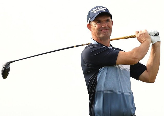 Still in form: Padraig Harrington quickly dismissed any suggestion of becoming a playing captain in the Ryder Cup after his super performance in the US PGA Championship.