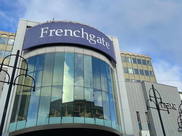 Doncaster's Frenchgate Shopping Centre