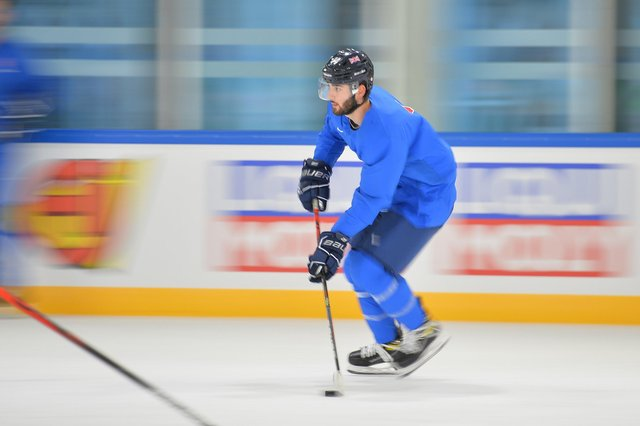 FAST FORWARD: GB winer Liam Kirk in training in Riga. Picture courtesy of Dean Woolley.