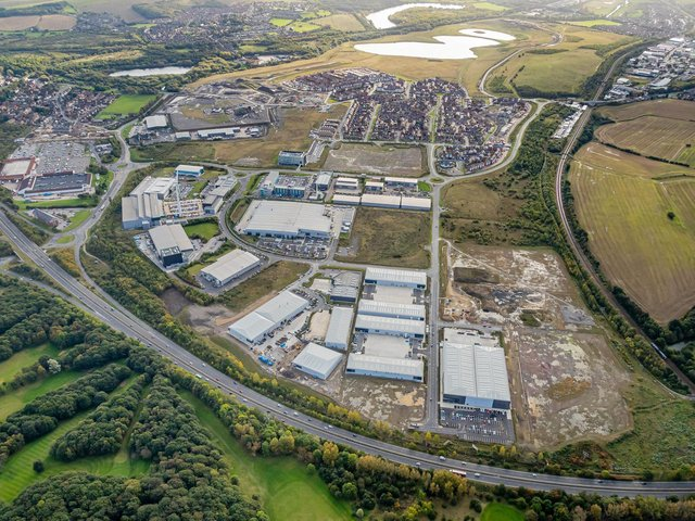 Library image of Waverley site, supplied by Harworth