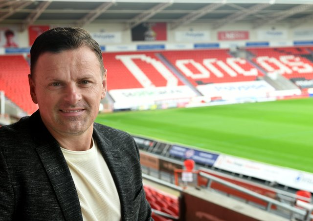 New manager of Doncaster Rovers: Richie Wellens. Picture: Gary Longbottom