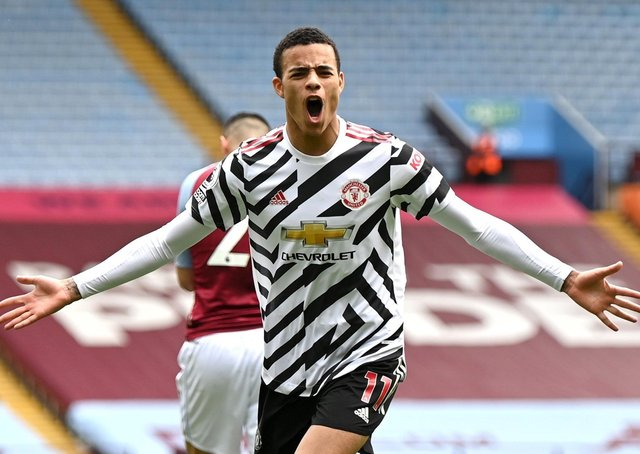 Mason Greenwood: Has scored 29 goals before turning 20 for Manchester United. (Picture: PA)