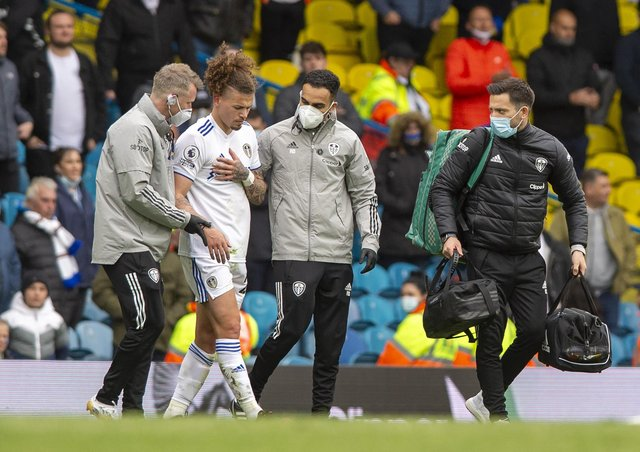 Injury concern: Kalvin Phillips.  Picture: Bruce Rollinson