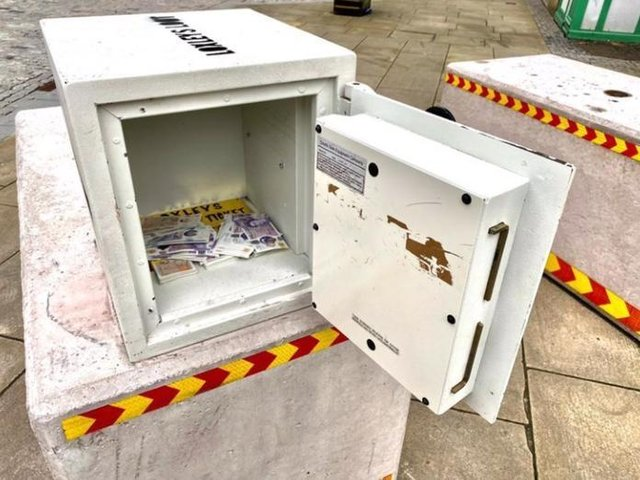 The safe in Sheffield that held £5,000