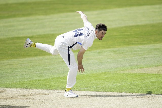 New deal: Yorkshire all-rounder Jordan Thompson's progress has been rewarded with a new contract at the club. Picture by Allan McKenzie/SWpix.com