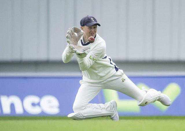 Quick loan: Yorkshire have sent wicketkeeper Jonny Tattersall,  to Gloucestershire for one match as Harry Duke keeps the gloves for the Roses match with Lancashire which starts at Old Trafford tomorrow.Picture: Allan McKenzie/SWpix.com