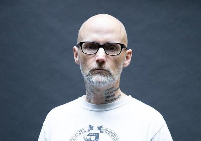 Moby. Picture: Travis Schneider