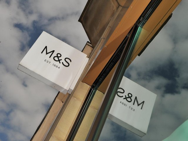 Marks & Spencer swung to a £201.2m pre-tax loss for the year.
