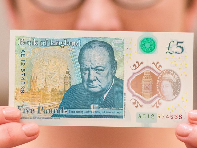 De La Rue recently won a new Bank of England contract to print plastic notes, starting in July 2021.