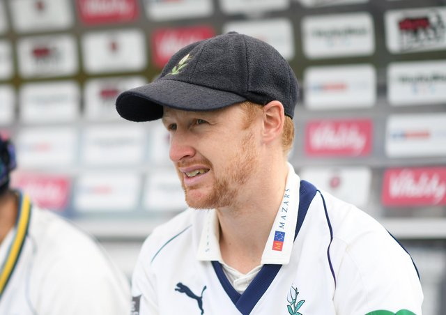 Jonny Tattersall of Yorkshire has joined Gloucestershire for one game (Picture: Alex Davidson/Getty Images)