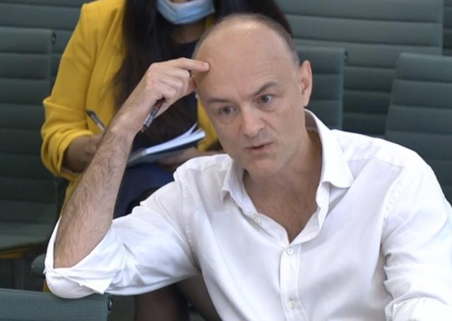 Dominic Cummings, former Chief Adviser to Prime Minister Boris Johnson, giving evidence to a joint inquiry of the Commons Health and Social Care and Science and Technology Committees on the subject of Coronavirus: lessons learnt.
