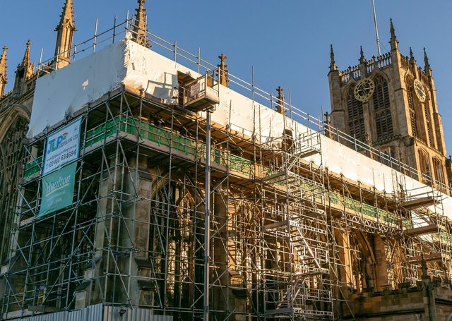 Having completed the renovation of the inside of Hull Minster in 2018, Houlton will return to the historic property to build a £1.7m extension on South Church Side.