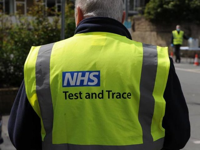 Kirklees Council and NHS staff began knocking on doors in Savile Town and Thornhill Lees today, asking everyone over 11 to take a PCR Covid-19 test