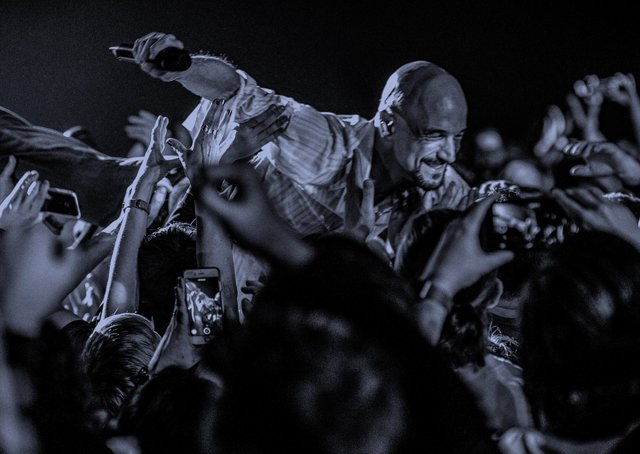 Tim Booth says he is looking forward to playing live with James again after a two-year break due to Covid. PIcture: Laura Toomey