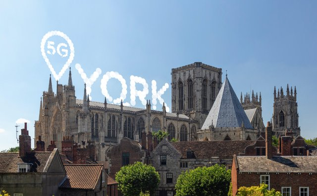 5G is being rolled out across Yorkshire by EE and other networks
