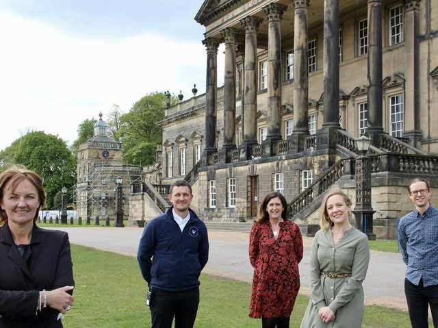 New hires Darren Procter, Paula Kaye, Lydia Tickner and Gabriel Morrison with CEO Sarah McLeod