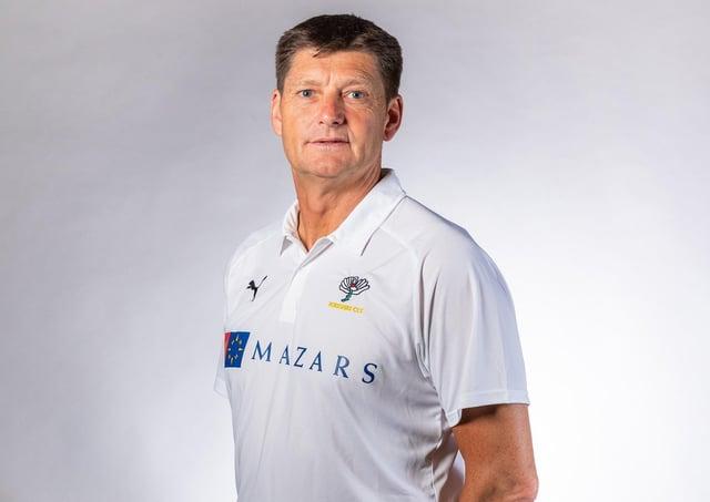 Yorkshire director of cricket Martyn Moxon. Picture: Alex Whitehead/SWpix.com