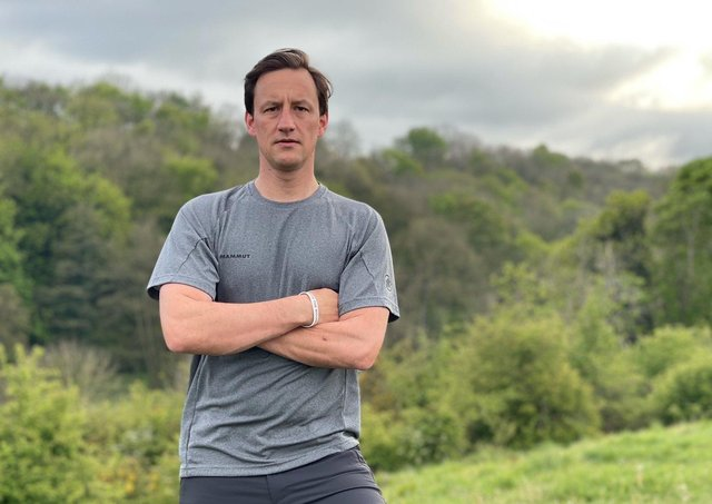 Christopher Gaskin hopes to raise £10,000 for Walking With The Wounded