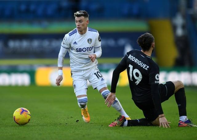 Leeds United's Gjanni Alioski.  Picture: Jonathan Gawthorpe