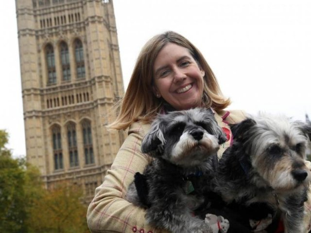 """Morley and Outwood MP Andrea Jenkyns said she was """"duped"""" into getting Godiva, her Miniature Schnauzer, in 2011 from a puppy farm in Lincolnshire which was later closed down."""