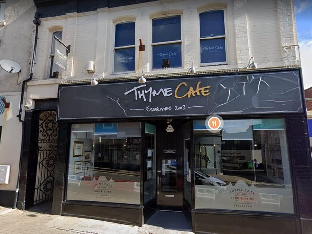Thyme Cafe has experienced repeated break-ins
