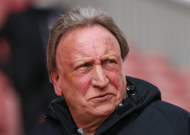 Middlesbrough manager Neil Warnock. Photo: Isaac Parkin/PA Wire.