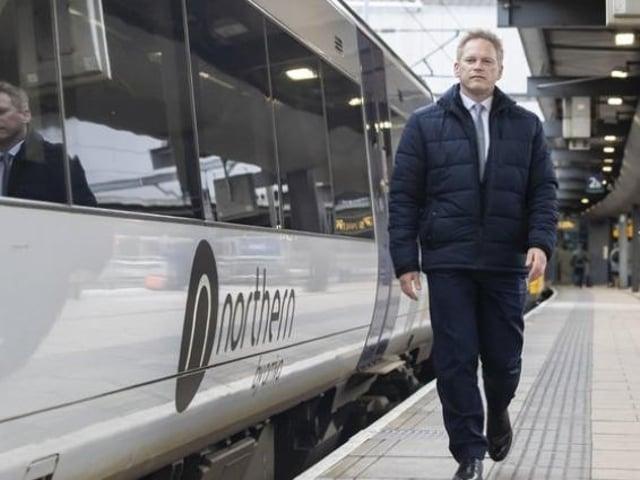 Transport secretary Grant Shapps