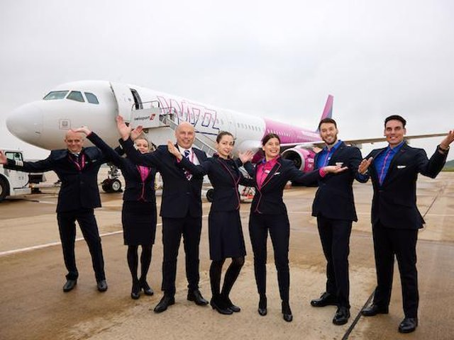 Wizz Air has restarted flights from Doncaster Sheffield Airport