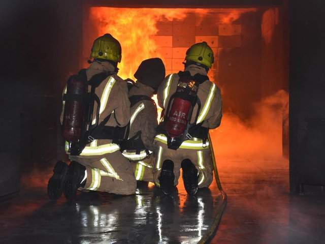 Here's how you can apply to be an on-call firefighter