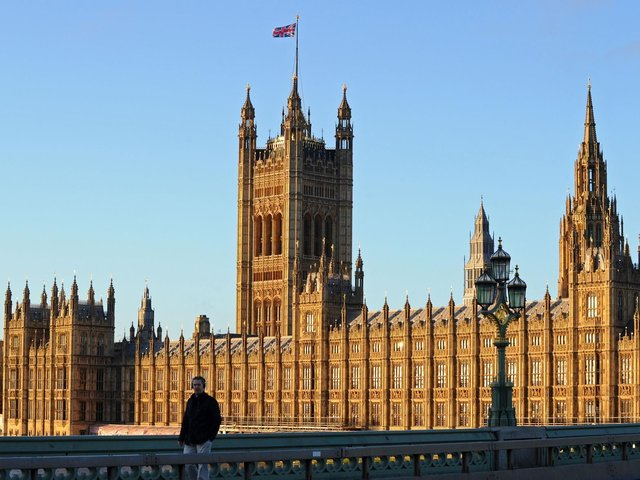 The Palace of Westminster. Photo by DANIEL SORABJI/AFP via Getty Images.