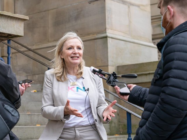 West Yorkshire mayor Tracy Brabin. Pic: Danny Lawson/PA Wire.