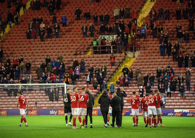 Barnsley could reward their loyal fans by not being a selling club again this summer.  Picture: Bruce Rollinson