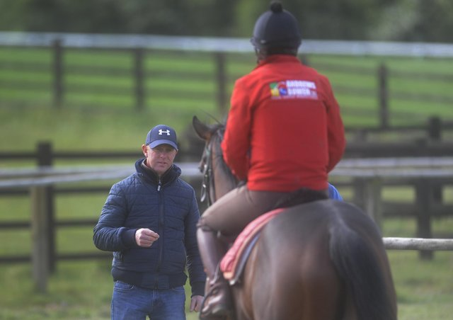 Double-handed: Trainer David O'Meara has two runners in the Hilary Needler Trophy at Beverley. Picture by Simon Hulme