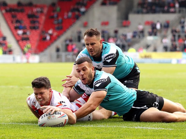 RESULT: St Helens 34 Hull FC 16. Picture: Getty Images.
