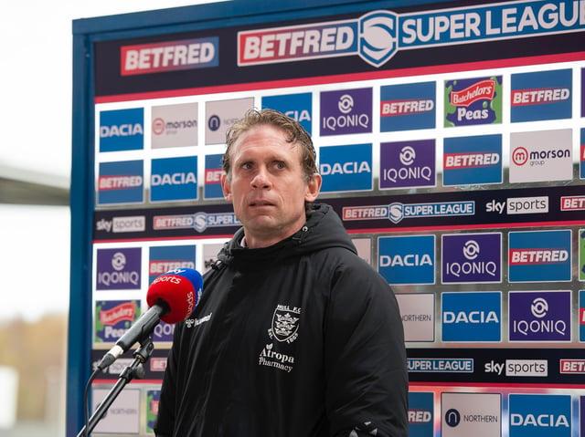 HEAD COACH: Brett Hodgson. Picture: Allan McKenzie/SWpix.com.