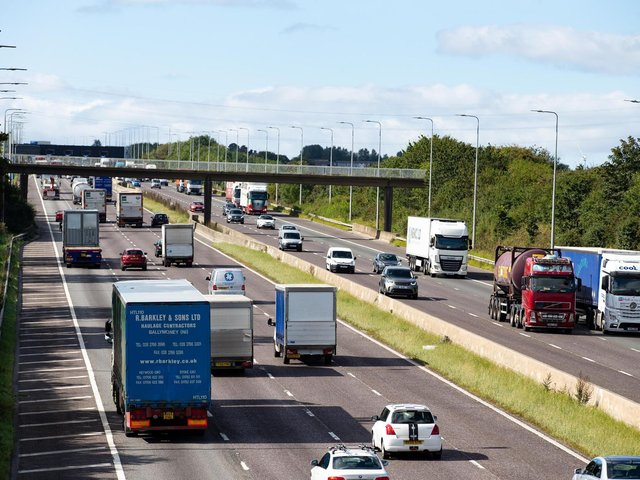 The crash happened on the M62 in East Yorkshire in July 2018.