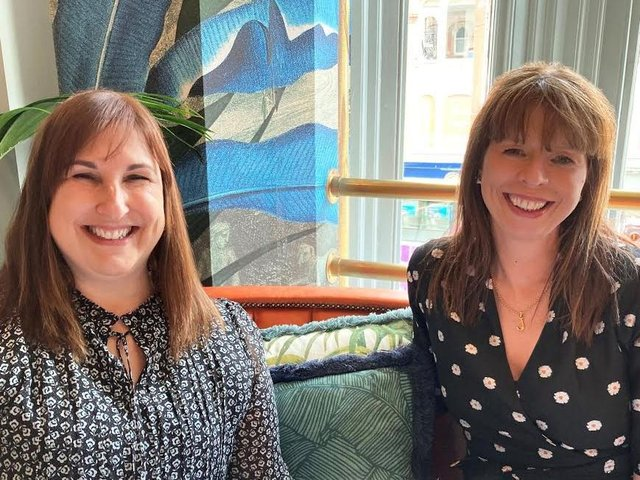 Jane Ingleby (left), partner in Clarion's family law team, with Justine Osmotherley, head of the team