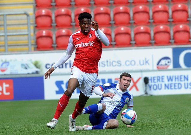 Rotherham's Chiedozie Ogbene has earned a call-up to the Republic of Ireland squad (Picture: Simon Hulme)