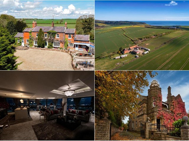 Properties on the market in Yorkshire.