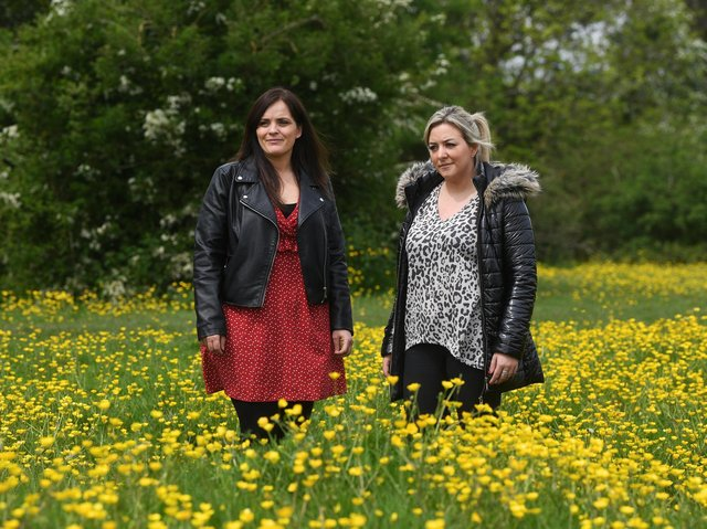 Jenny Dees (left) and Laura Sugden (right)