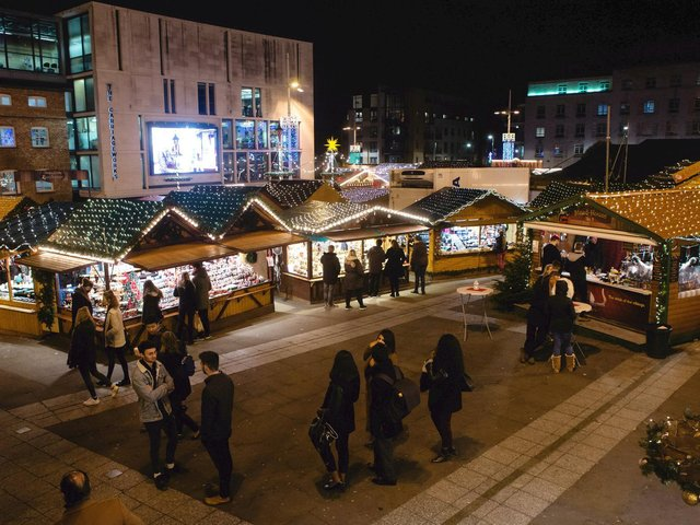 York Christmas Market could be expanded this year. (Credit: SWNS)