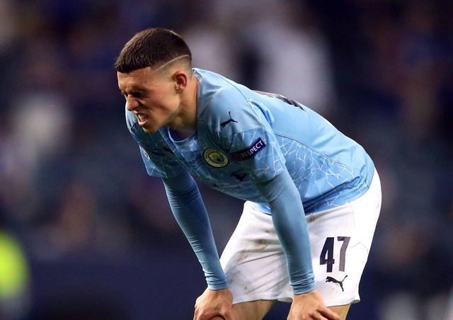 Tipped to shine: Manchester City's Phil Foden during the UEFA Champions League final match against Chelsea.